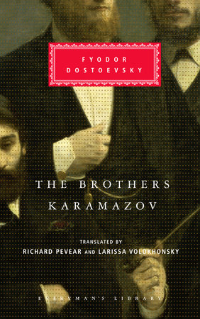Brothers Karamazov by Fyodor Dostoevsky Book Cover