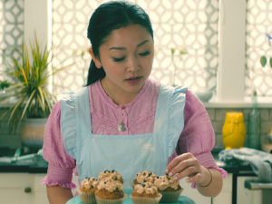 Lara Jean Covey Baking in To All the Boys I've Loved Before Film