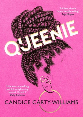 Queenie by Candice Carty-Williams Book Cover Pink Edition