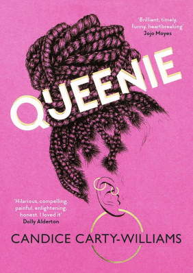Queenie Candice Carty-Williams Book Cover Pink Edition