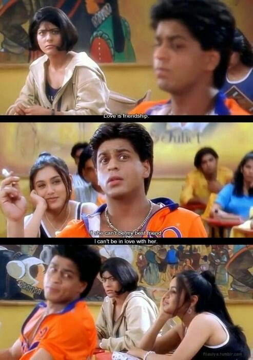kuch kuch hota hai love is friendship